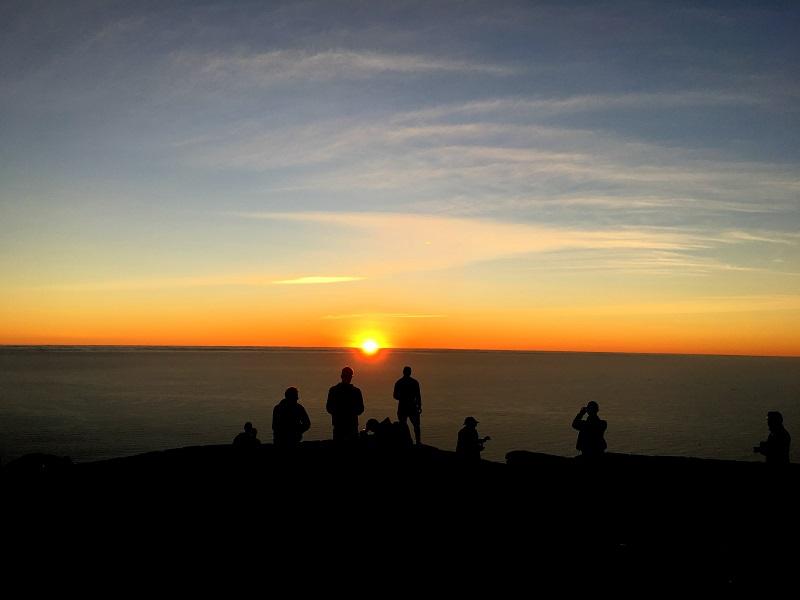 Por do sol em Cabo da Boa Esperança