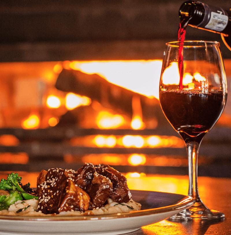 Jantar em restaurante - África do Sul