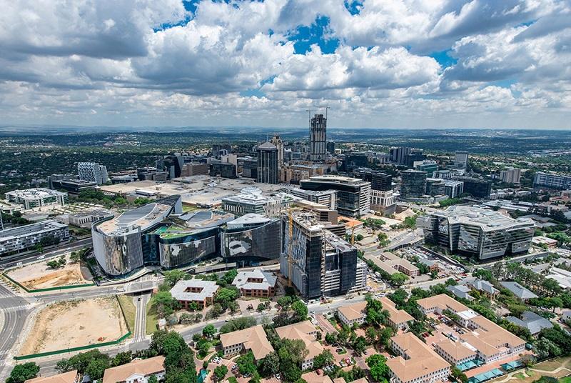 Região dos principais e melhores hotéis de Joanesburgo: Sandton