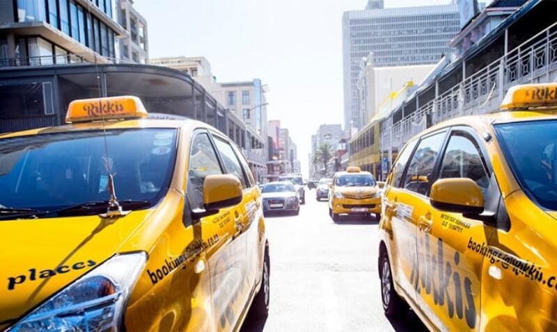 Táxi na África do Sul
