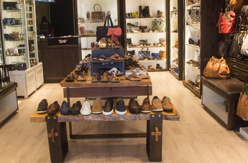 Comprar sapatos no shopping Victoria Wharf Mall na Cidade do Cabo