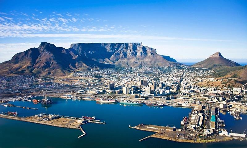 Montanha da Mesa - Atrativo da África do Sul