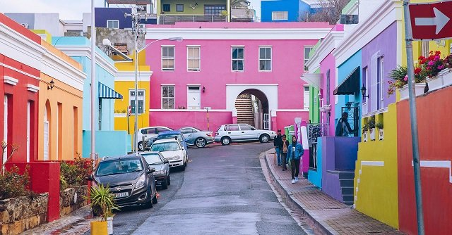 Bo Kaap na Cidade do Cabo