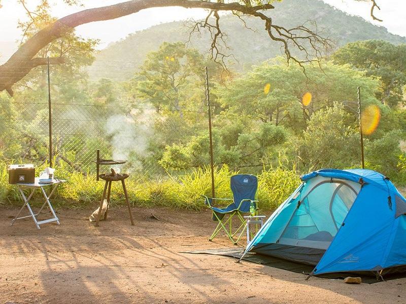 Camping no Parque Nacional Kruger