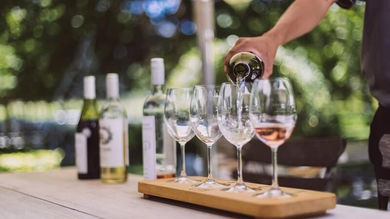 Degustação de vinhos em Franschhoek