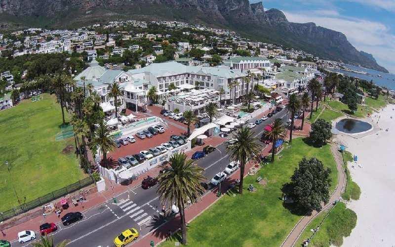 Estabelecimentos em Camps Bay na Cidade do Cabo