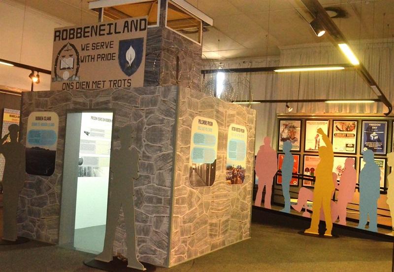 Acervo do Museu da Ilha Robben na Cidade do Cabo
