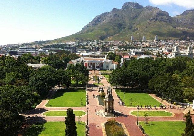 The Company's Garden na Cidade do Cabo