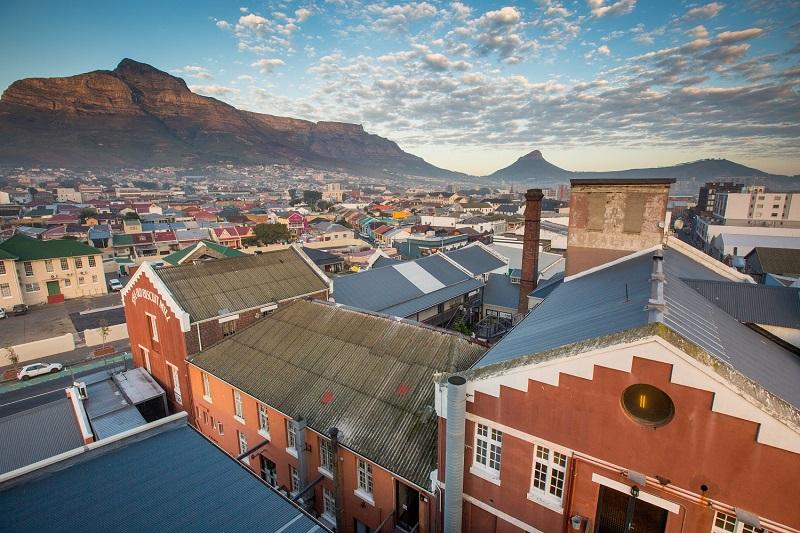 Região do The Old Biscuit Mill na Cidade do Cabo
