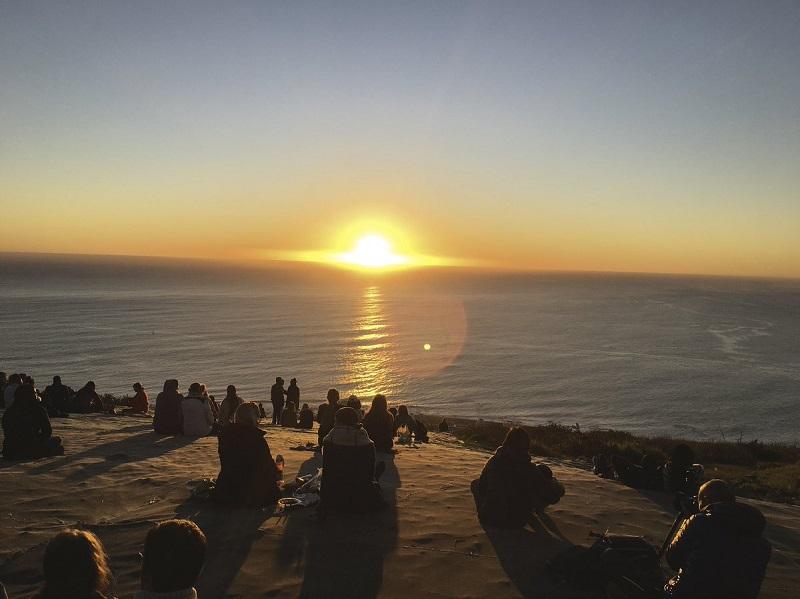 Signal Hill na Cidade do Cabo