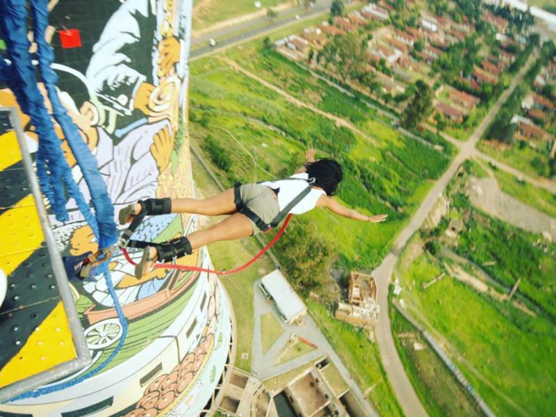 Bungee Jump em Soweto