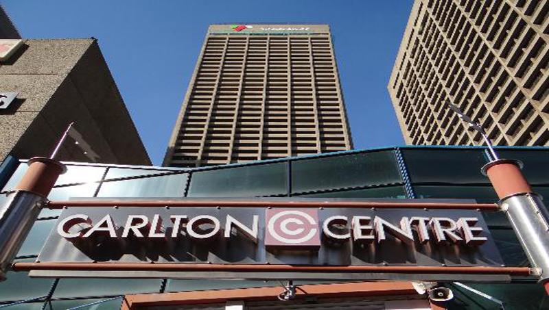 Carlton Centre em Joanesburgo