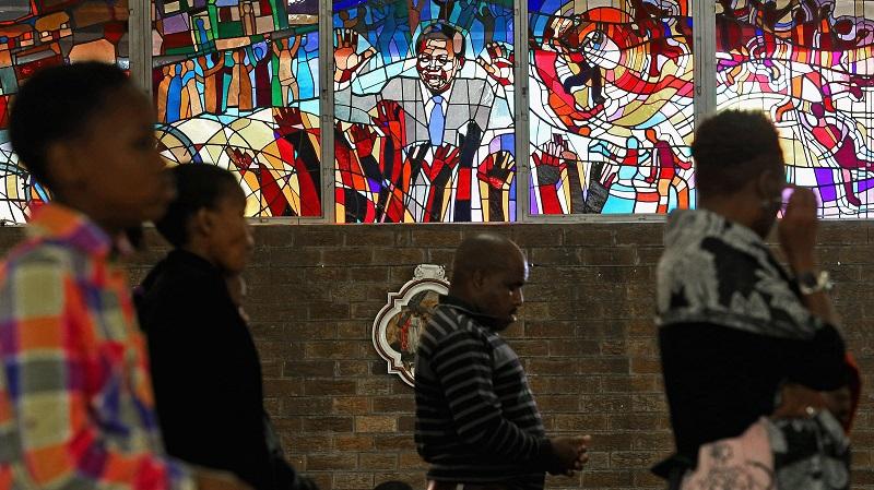 Igreja Regina Mundi em Joanesburgo