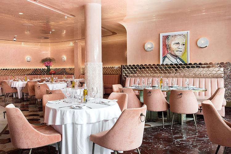 Restaurante Tashas na Nelson Mandela Square