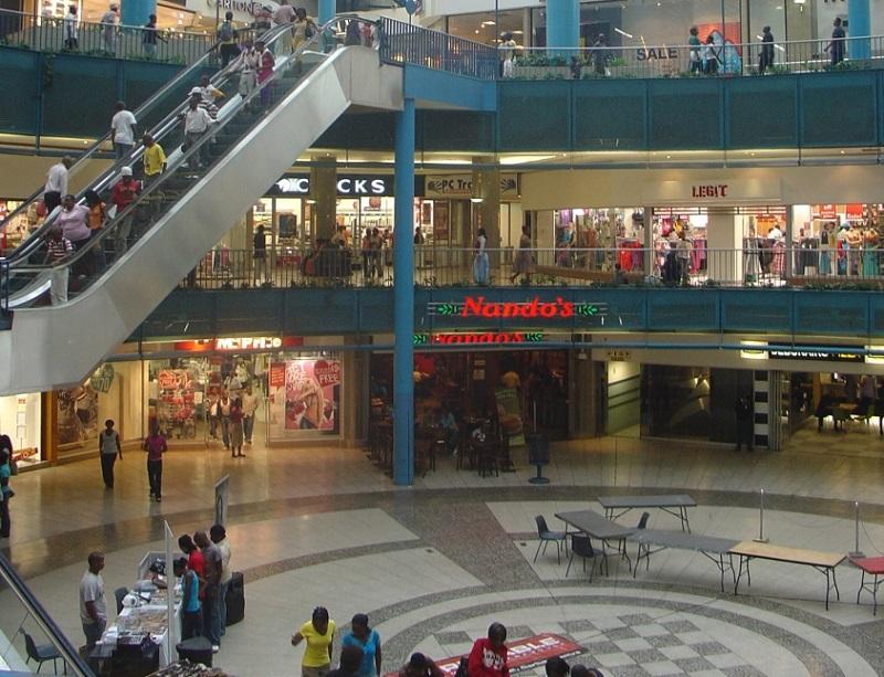 Shopping Carlton Centre em Joanesburgo