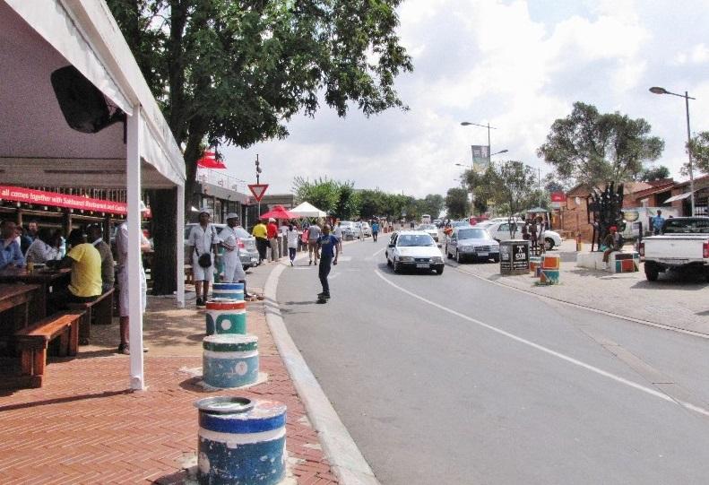 Vilakazi Street em Joanesburgo