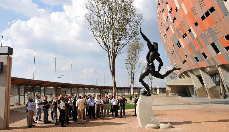 Visita guiada no Soccer City em Joanesburgo