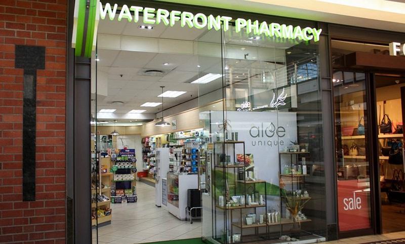 Farmácia Waterfront Pharmacy na Cidade do Cabo