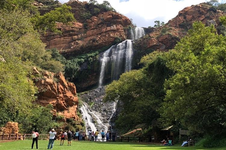 Jardim Botânico de Joanesburgo - Cachoeira