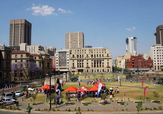 Principais praças da África do Sul