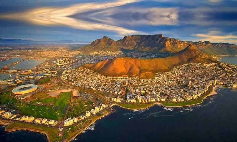 Cidade do Cabo na África do Sul