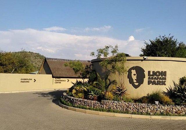 Lion Park em Joanesburgo