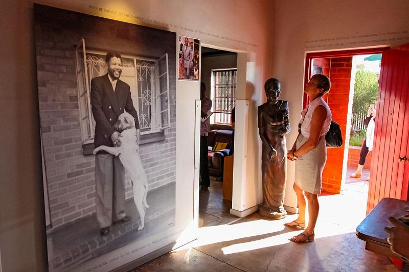 Visita à Casa de Nelson Mandela em Joanesburgo