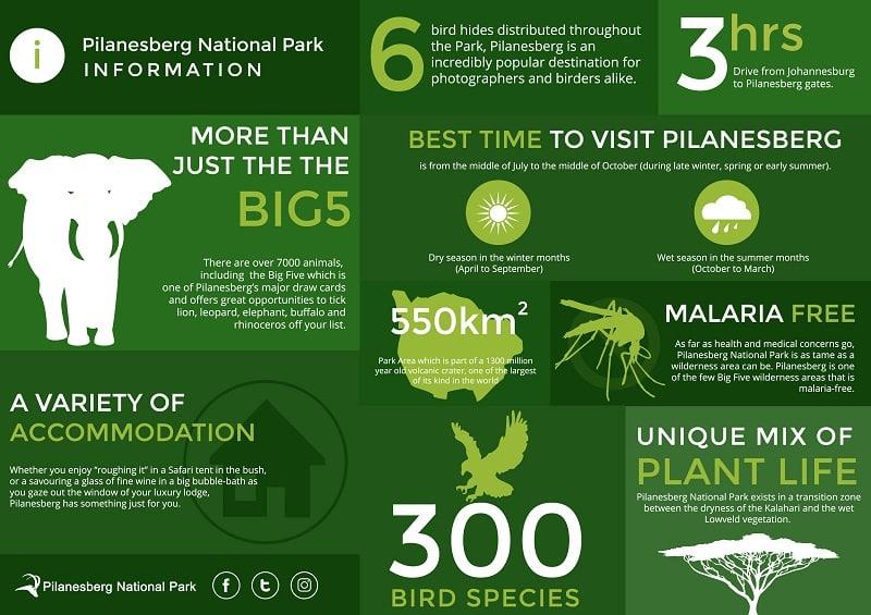 Informações do Pilanesberg National Park