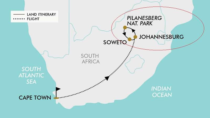 Pilanesberg National Park - Localização