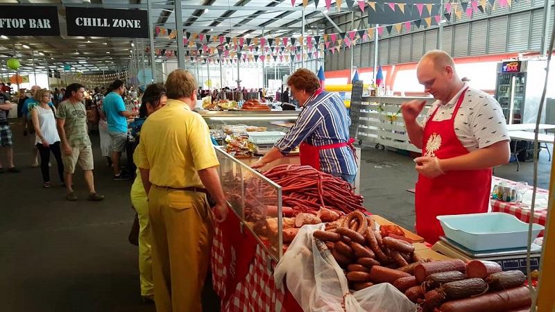 Rosebank Sunday Market em Joanesburgo