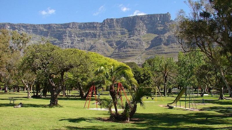 Green Point Park na Cidade do Cabo