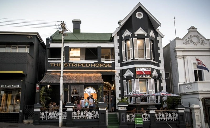 The Striped Horse on Kloof