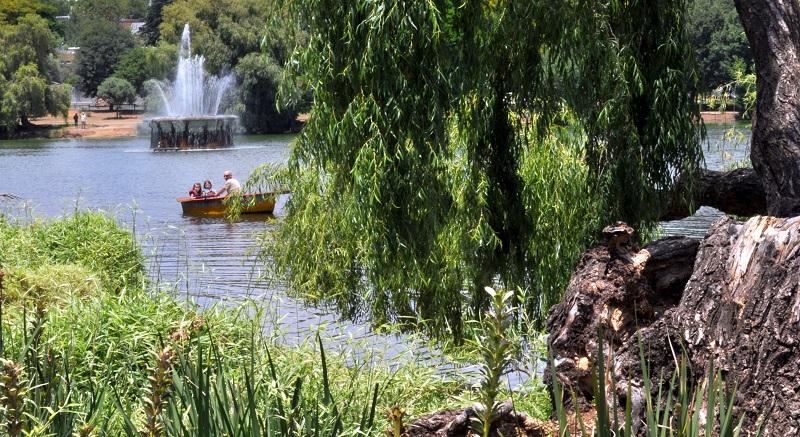 Zoo Lake em Joanesburgo