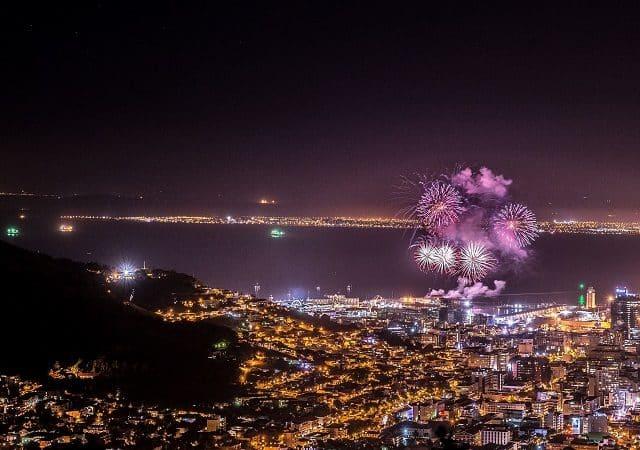 Ano Novo na África do Sul