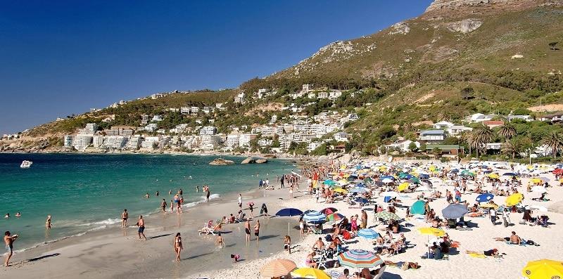Estrutura Clifton Beach - Cidade do Cabo