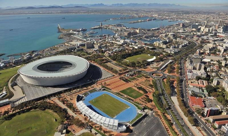 Estádio em Green Point Cidade do Cabo