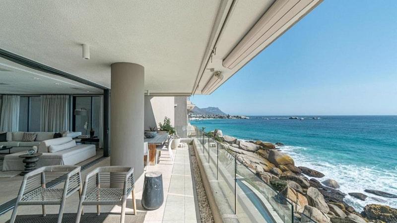 Hotel em Clifton Beach na Cidade do Cabo