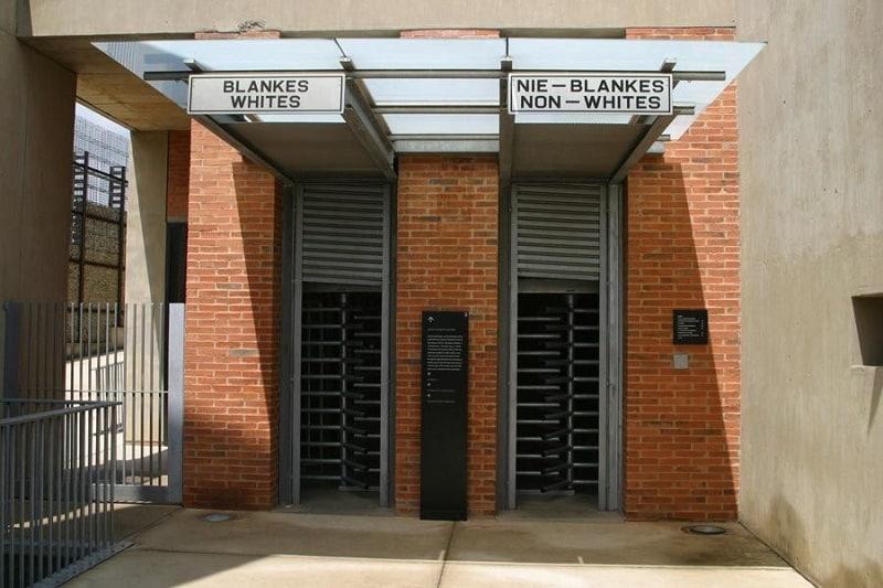 Museu do Apartheid - Joanesburgo