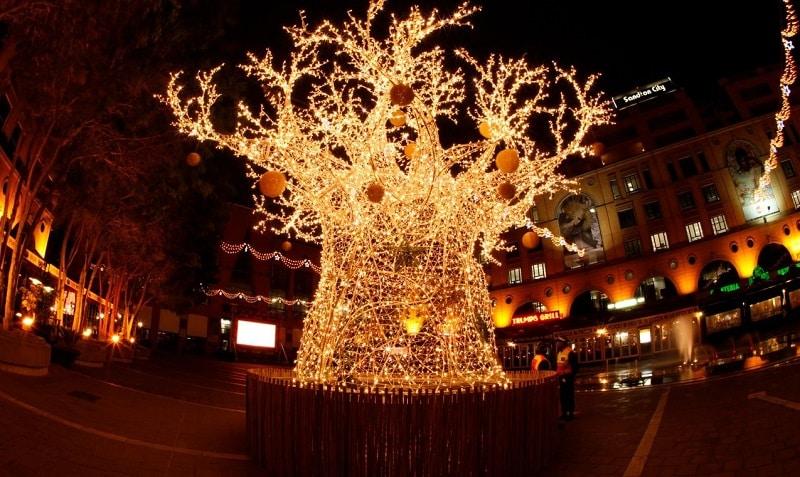 Natal em Joanesburgo