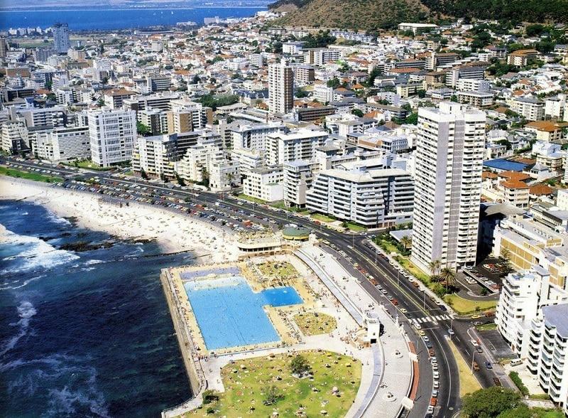 Sea Point na Cidade do Cabo - África do Sul