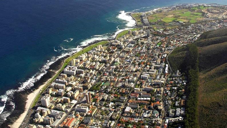 Sea Point e Green Point na Cidade do Cabo