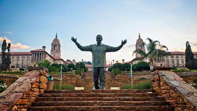 Estátua de Nelson Mandela - Pretória