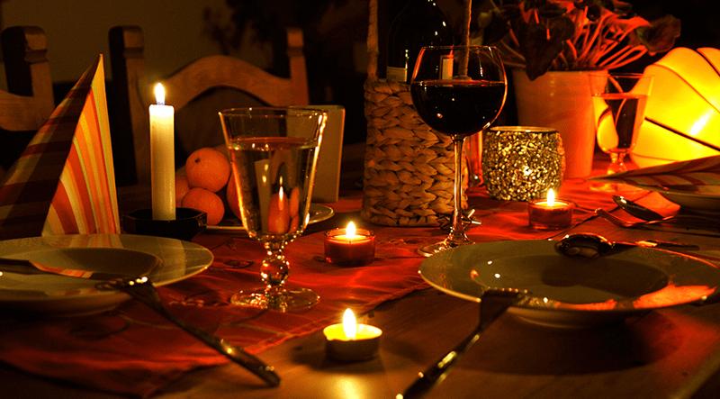 Jantar de lua de mel na África do Sul