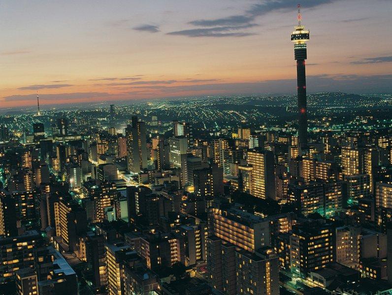 Noite em Joanesburgo