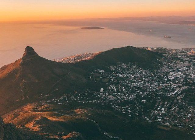 Meses de alta e baixa temporada na Cidade do Cabo