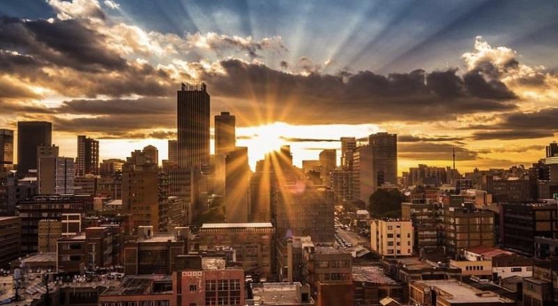 Sunset em Joanesburgo