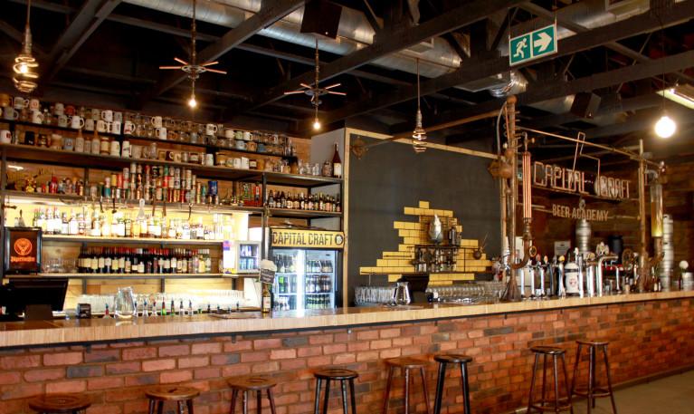Bar Capital Craft Beer Academy em Pretória
