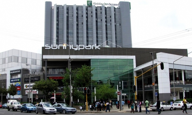 Shoppings em Pretória: Sunny Park Shopping Centre