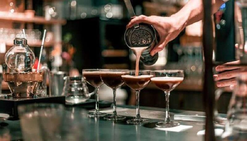 Drink em bar de Pretória