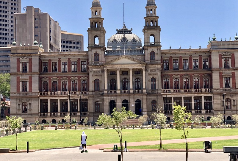 Church Square em Pretória - África do Sul